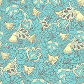 Oak leaves with acorns seamless pattern — Wektor stockowy