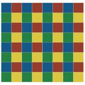 Vector pattern seamless crocheted blanket — Stock Photo