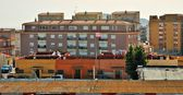 View of buildings in a Spanish city — Foto de Stock