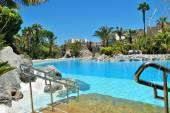 Mediterranean park ceuta — Stock Photo