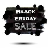 Black Friday sale — Stock Vector