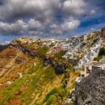 Fira city, Santorini — Stock Photo #52871453