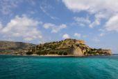 Spinalonga island in Crete, Greece — Zdjęcie stockowe