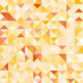 Amazing colorful yellow vintage geometric pattern — Stock Vector