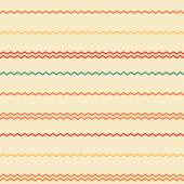 Amazing colorful rainbow beige vintage geometric stripe pattern — Stockvektor