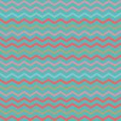 Vintage colorful geometric blue stripes pattern — Stock Vector