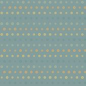 Vintage colorful geometric blue dots pattern — Stock vektor