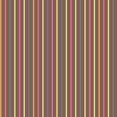 Seamless colorful brown geometric pattern with stripes — Stock Vector