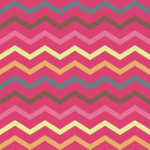 Seamless colorful pink geometric pattern with stripes — Vector de stock