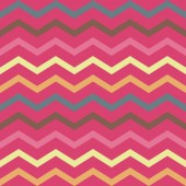 Seamless colorful pink geometric pattern with stripes — Stockvektor