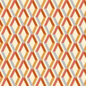 Seamless colorful geometric pattern with stripes — Stockvektor
