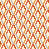 Seamless colorful geometric pattern with stripes — Vector de stock