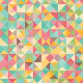 Amazing seamless colorful geometric pattern — Stockvektor