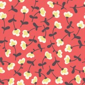 Amazing cute seamless vintage colorful floral pattern — Stock Vector