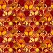 Autumn vector seamless pattern — Stock Vector #53383373