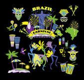ブラジルのカーニバル — ストックベクタ