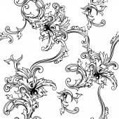 Baroque pattern — Stock Vector