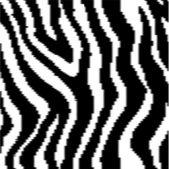 Animal print pixel pattern — Stock Vector