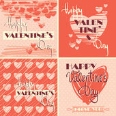 Happy Valentine's Day. — Stok Vektör