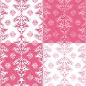 Set of glamour patterns — Vecteur