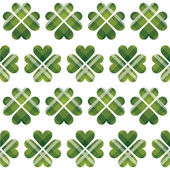 Saint Patrick's Day tartan seamless pattern — Stock Vector