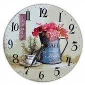 Illustration of clock in provence style — Stockfoto