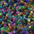 Seamless 3D colored balls background — Stock Photo #65518051