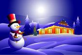 Iceman & Holiday — Stock Vector