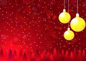 Kerst groeten — Stockvector