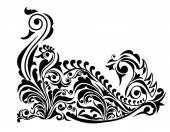 Swan Pattern Design-Vector — Stock Vector