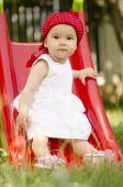 Toddler playing — Stock Photo