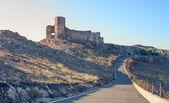 Ruins of Enisala fortress, Dobrogea, Romania — Stock Photo