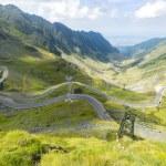 Transfagarasan road in summer time — Stock Photo #80436490