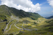 Transfagarasan road in summer time — Stock Photo
