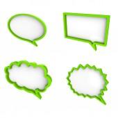 3d Cloud text — Stock Photo