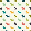 Dogs pattern. — Stock Vector #52830733