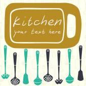 Kitchen. — Stock Vector