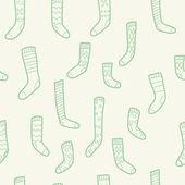 Socks pattern — Stock Vector
