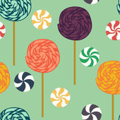 Lollipops pattern. — Stock Vector