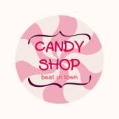 Doodle caramel. — Stock Vector