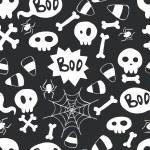 wzór Halloween — Wektor stockowy  #53065585