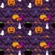 Halloween pattern. — Stock Vector #53066851