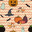 Halloween pattern. — Stock Vector #53068271