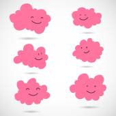 Clouds. — Stock Vector