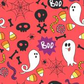 Halloween pattern. — Stock Vector