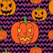 Halloween pattern. — Stock Vector