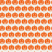 Pumpkins pattern. — Stock Vector