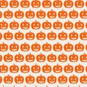 Pumpkins pattern. — Stockvektor