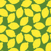 Lemons pattern — Stock Vector