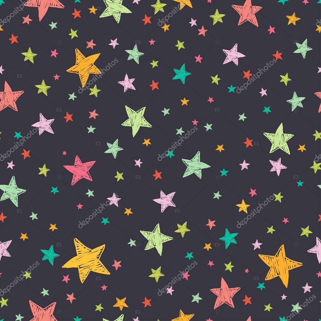 Узор из звездочек фото